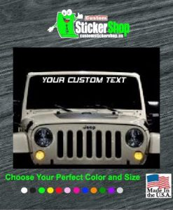 Custom Sticker Shop Windshield Decals Buy  Get  Free - Custom windo decals for jeeps