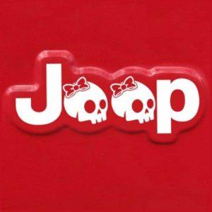 jeep girl skull fender decal sticker