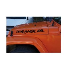 jeep wrangler custom hood muddy decal sticker