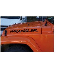 jeep wrangler custom hood muddy decal sticker