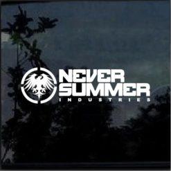 never summer decal sticker a2