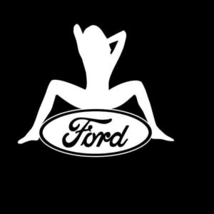 Ford Sexy Logo Vinyl Decal Stickers a2