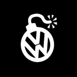 VW Volkswagen Bomb Vinyl Decal Sticker