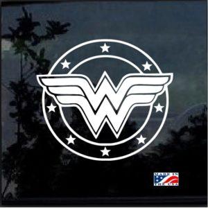 wonder woman 2 window decal sticker