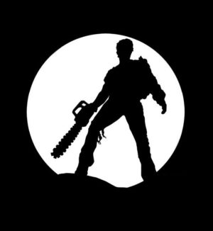 EVIL DEAD ASH ZOMBIE Vinyl Decal Stickers