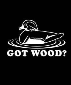 Got Wood Duck Hunting Vinyl Decal Sticker