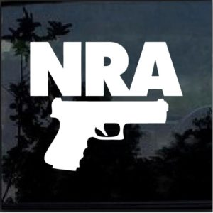 nra gun decal sticker