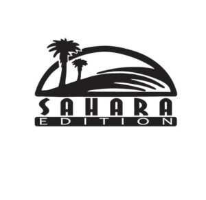 Jeep Wrangler Sahara Edition Fender Decal Set of 2
