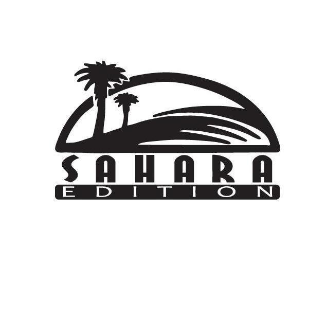 Jeep Wrangler Sahara Edition Fender Decal Set of 2