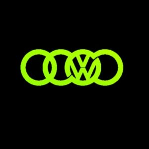 VW olympic rings JDM Vinyl Decal Stickers