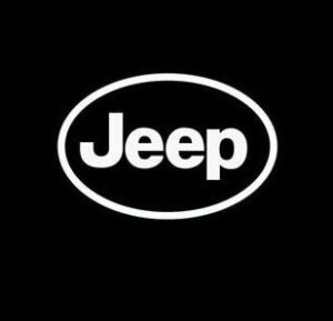 Jeep Euro Oval Vinyl Decal Sticker