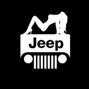 Jeep Sexy Vinyl Decal Sticker