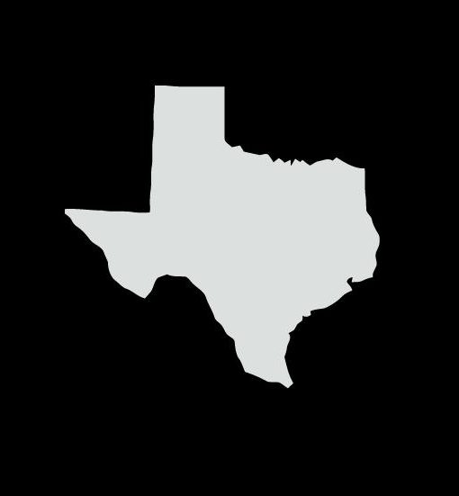 Silhouette Texas Texas State Silhouette Decal Stickers Custom Sticker Shop