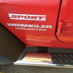 Jeep wrangler Sport Unlimited Fender Sticker Jeep Decal Stickers
