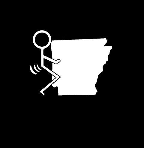 Fuck Arkansas State Vinyl Decal Stickers