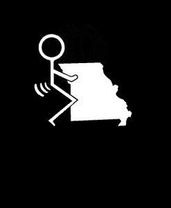 Fuck Missouri State Vinyl Decal Stickers