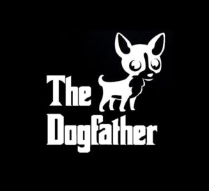 Chihuahua The Dog Father Vinyl Decal Stickers