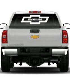 Chevy Bowtie til I die Vinyl Decal Stickers