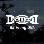 Chevy it's in my DNA Double Helix Truck Decal Sticker
