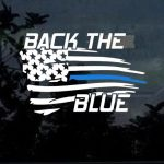 Blue lives Matter Sticker - Back the Blue Decal