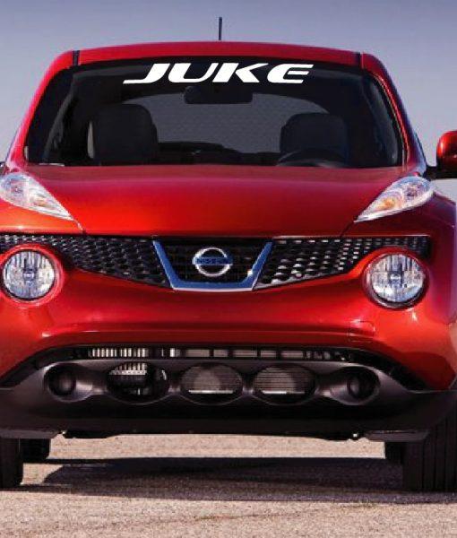 Nissan Juke Windshield Decal sticker – Custom Sticker Shop