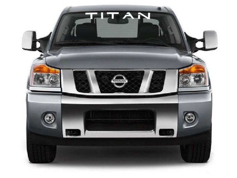 Nissan Titan Windshield Decal sticker – Custom Sticker Shop