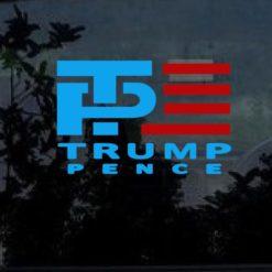 Trump Pence 2016 Window Decal Sticker