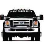 Ford F350 Super Duty Windshield Banner Decal Sticker
