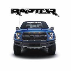 Ford Raptor Vinyl Windshield Banner Decal Stickers