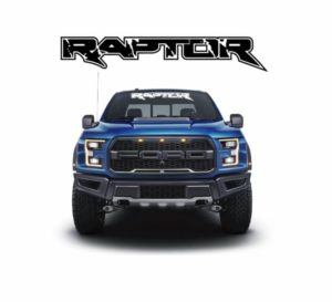 Ford Raptor Vinyl Windshield Banner Decal Stickers