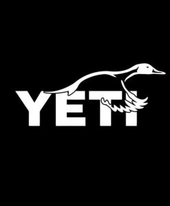 Yeti Goose Decal Stickers