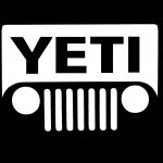 Yeti Jeep Jeep Decal Stickers