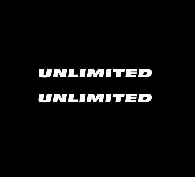 Jeep wrangler Unlimited Fender Decal set
