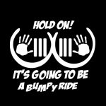Jeep Boobie Bouncer Hang On Jeep Decal Stickers