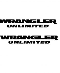 jeep wrangler logo decal. wrangler unlimited side fender jeep logo decal
