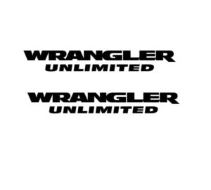 wrangler unlimited side fender