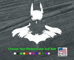 batman forever decal sticker
