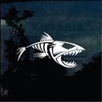 Bonefish Skeleton Decal Fishing Decal Stickers
