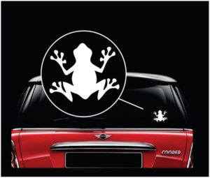 Frog window decal sticker a3