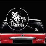 Social Distortion band Window Decal Sticker