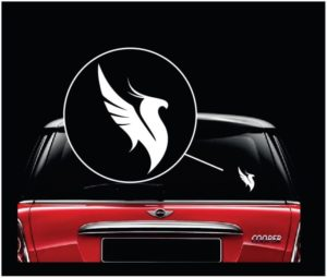 illenium Vinyl window Decal Sticker
