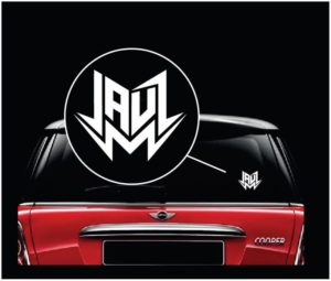 Jauz vinyl window decal sticker