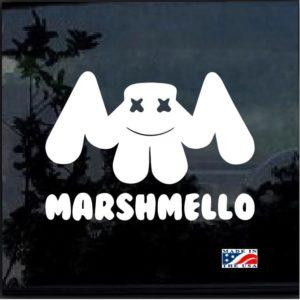 Marshmello EDM House Music Decal Sticker
