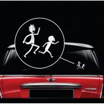 Rick and Morty Window Decal Sticker A2