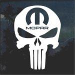 Punisher Mopar Jeep Decal Stickers