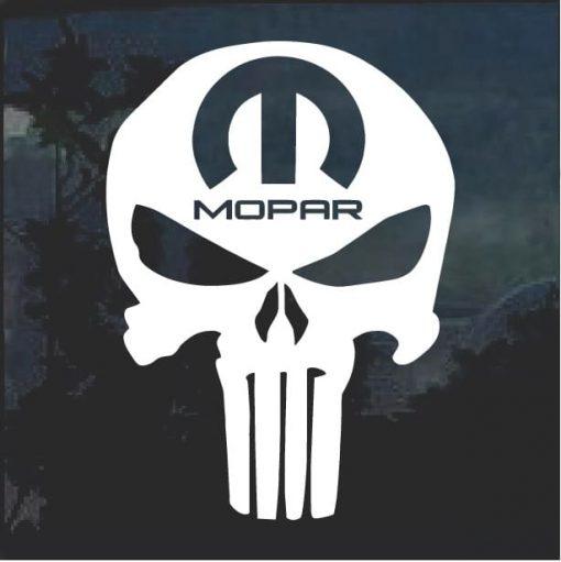 Mopar Punisher Vinyl Window Decal Sticker