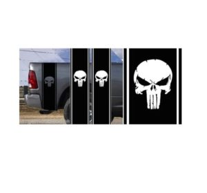 Punisher Bedside Kit Set of 2 Vinyl Decal Stickers