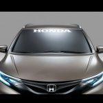 Honda Windshield Banner Decal Sticker