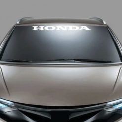 Windshield Banner Decal Sticker fits Honda