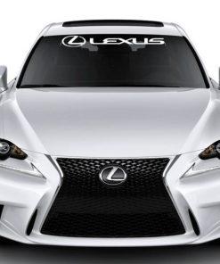 Windshield Banner Decal Sticker fits Lexus